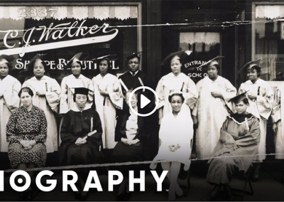 Biography Channel (Jan 29, 2013) – Madam Walker's Early Life
