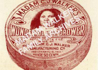 Madam Walker HairGrower Container