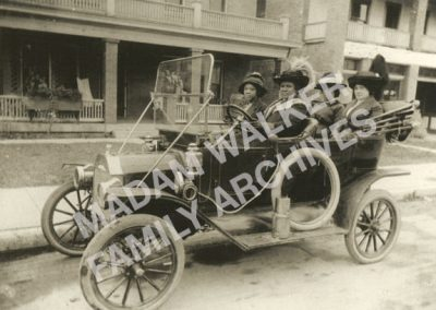 Madam Walker in Model T