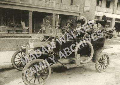 Madam Walker in Model T