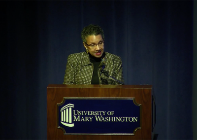 Great Lives Lecture Series/ University of Mary Washington
