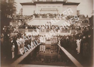 Villa Lewaro Terrace with Guests - 1924