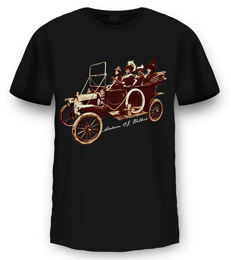 "Madam C.J. Walker ""Model T"" T-shirt"
